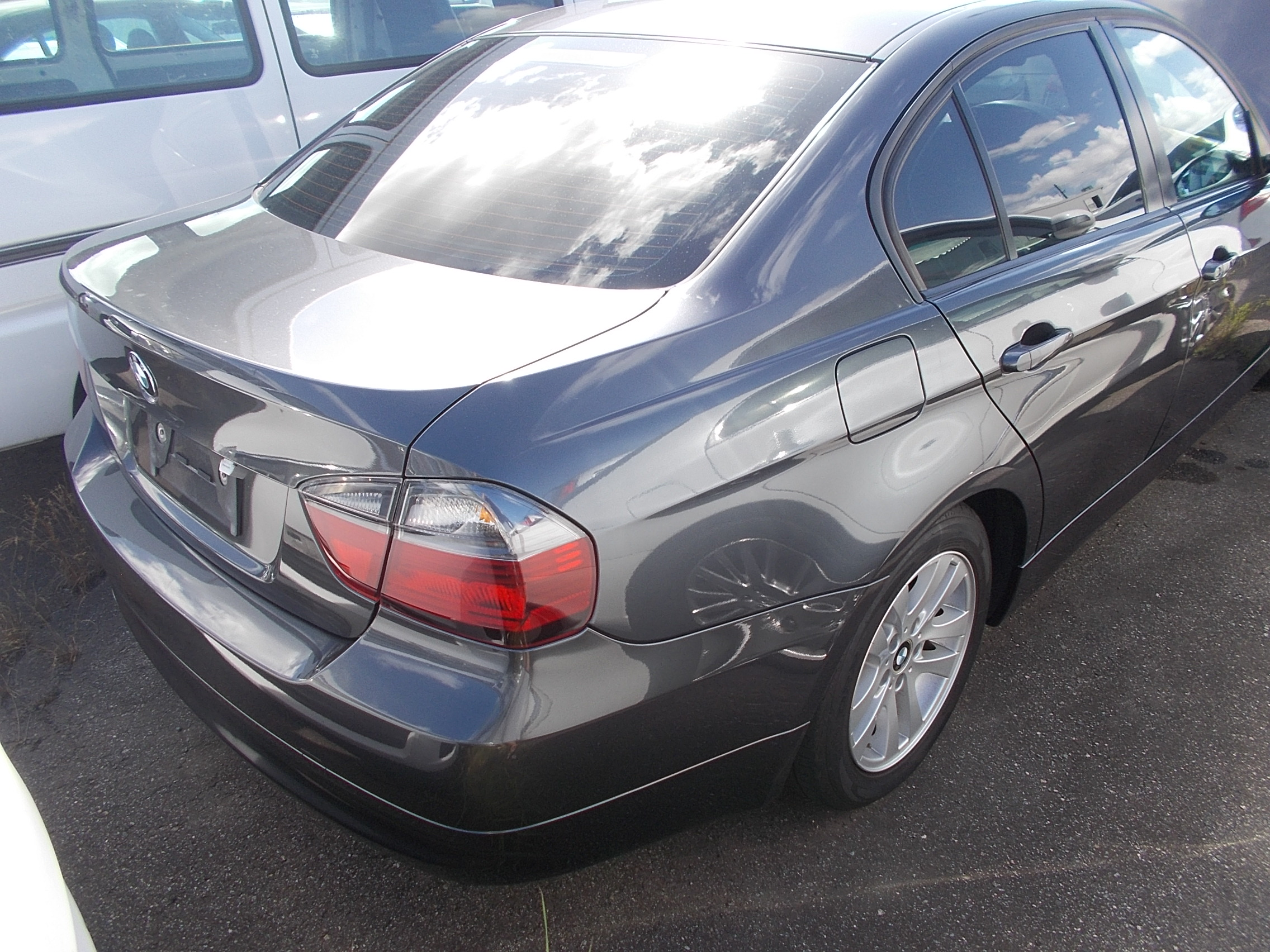 BMW 3 SERIES 2006 grey VA20