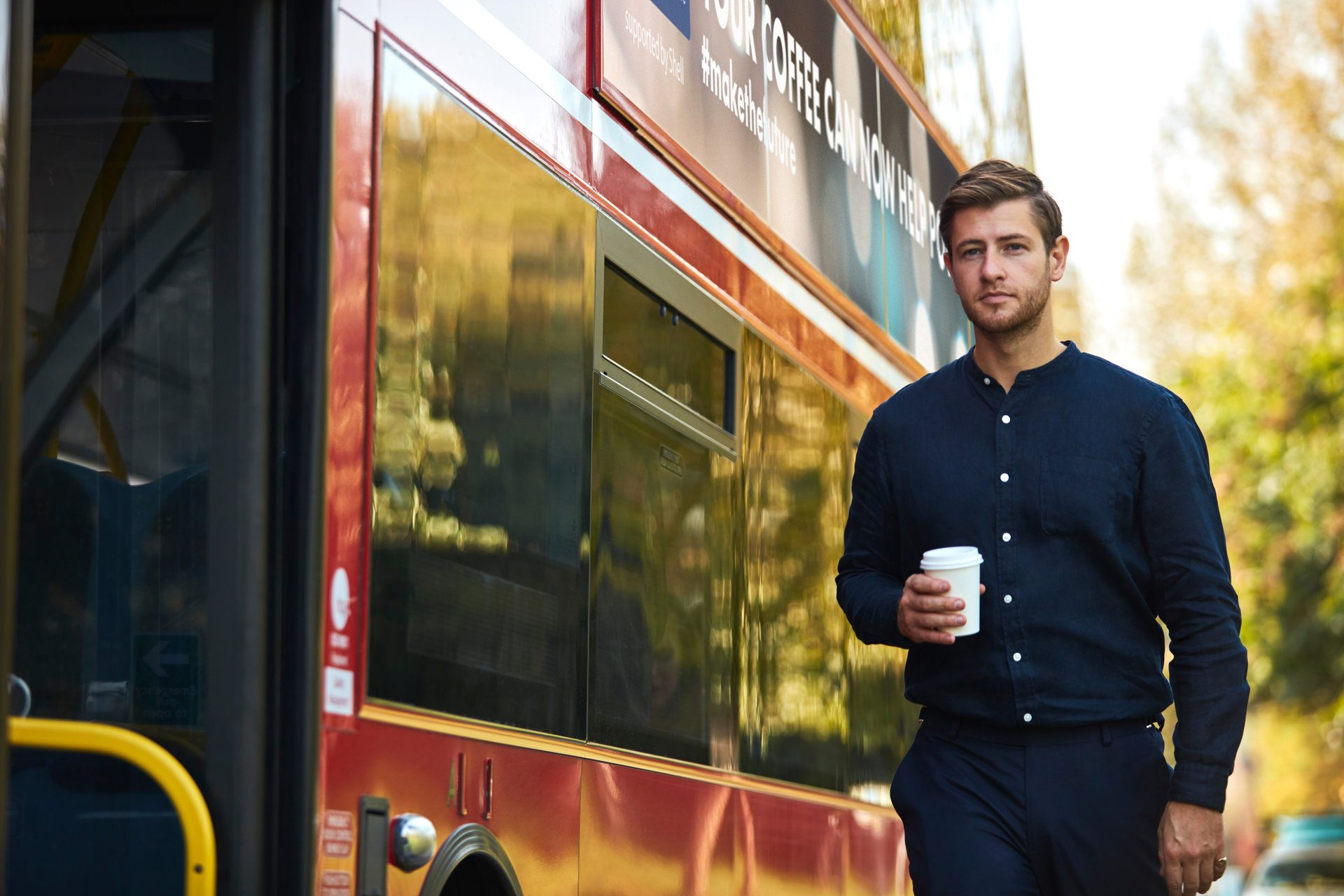 London's Buses is Now Using Coffee Fuel