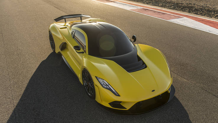 Hennessey Officially Showed 300 mph Venom F5!