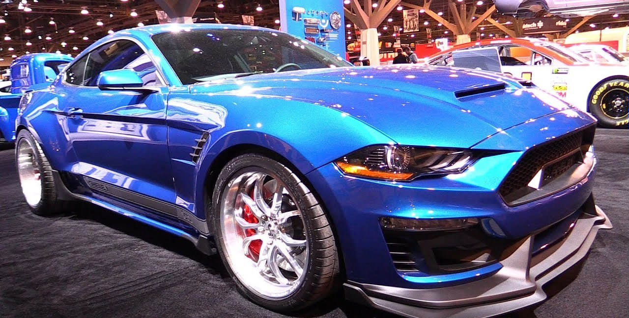 The Craziest Shelby Mustang on SEMA!